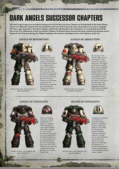 HQ of batt. Warhammer Dark Angels, Dark Angels 40k, Warhammer 40k Figures, Warhammer Art, Warhammer 40k Miniatures, Warhammer 40000, Angel Of Vengeance, Guardia Imperial 40k, 40k Armies