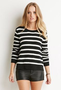 Jersey Textura y Rayas | Forever 21 - 2000184080