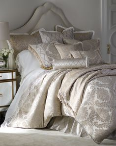 """Isabella Collection by Kathy Fielder """"Darby"""" Bed Linens - Horchow"""