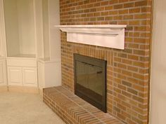 How To Create A Fireplace Mantel