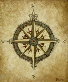 compass rose, maybe one day as a tattoo