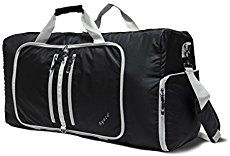 baa8e57fb9 Ryaco  Foldable Travel Duffle Bag Gym Bag lightweight Sports Duffles Luggage  with Water Resistant Fabric