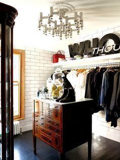 A HUGE thank to Anna @ Door Sixteen for her FABULOUS post about my dressing room! Read Anna's post here … Armoire Dressing, Dressing Room Closet, Closet Bedroom, Closet Space, Dressing Rooms, Dressing Area, Man Closet, Master Closet, Closet Vintage