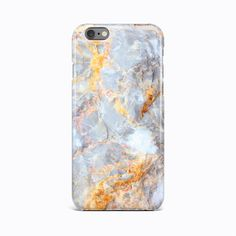Gold Granite Marble Hard Case Cover Apple iPhone 4 4S 5 5S SE 5c 6 6S 7 Plus #Apple