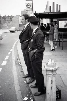 Beresford Square bus stop 1971...now I remember queuing here but had forgotten about it until saw this photo
