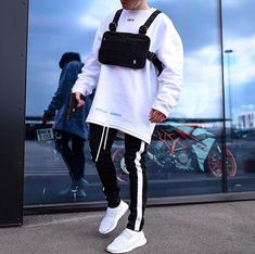 Streetwear Fashion trends and outfits for sale - - Fashion Mode, Urban Fashion, Mens Fashion, Fashion Fall, Runway Fashion, Fashion Outfits, Fashion Trends, Hypebeast Outfit, Streetwear Fashion