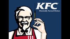This picture was also found on the Nibby, Eggplant Wizard PhD's posts blog. This shows how KFC gets the chicken it uses. A lot of people are concerned with having no steroids in their food. This picture is taking a jab at them for using chickens that are given steroids to help them grow.