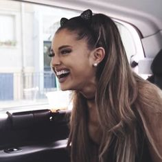 Ariana has such a beautiful laugh
