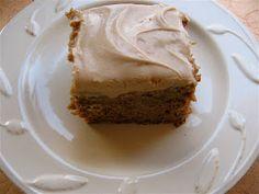 Arctic Garden Studio: Persimmon Cake with Spicy Cinnamon Cream Cheese Frosting