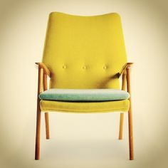 Bunu begendik! : Unique Yellow Chair by Terrence Conran #mobilya #koltuk #berjer #interiordesign #interior #design #multicolor #armchair #colorful #rainbowcolors #vintage #picoftheday #igersistanbul #igersturkey #turkey #igersankara #sandalye #turkuaz #benimolmalı #istiyorum #sari #yesil #mavi #ankara #antalya #tasarim #oneofakind