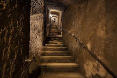 NAPLES, ITALY Bourbon Tunnel Dug as a secret royal escape route, the tunnel became a wartime bomb shelter and dumping ground for vintage cars.  - Atlas Obscura