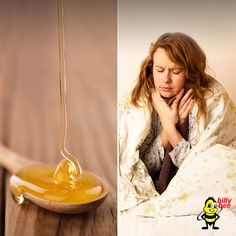 Don't let winter cold and flu season stop you from buzzing! Try a spoonful of honey to help soothe a nasty cough.