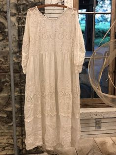 gardsromantik.se: Romantiska kläder tunikor spets