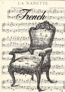 Free Vintage Printable - French Chair Sheet #Christmas Decor| http://my-christmas-decor-styles.blogspot.com