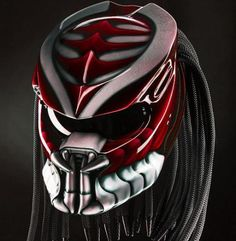 Items similar to Predator Motorcycle Helmet Shark (Dot Certified) on Etsy Motorcycle Events, Motorcycle Helmets, Motorcycle Style, Motorcycle Equipment, Futuristic Motorcycle, Motorcycle Wheels, Airbrush, Predator Helmet, Predator Alien