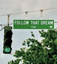 A green light always means go, no matter where you are …