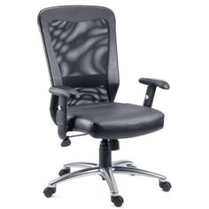 Business & Industrial Purposeful Mid-back Black Mesh Swivel Task Chair With Leather Padded Seat And Flip-up Arms Making Things Convenient For The People Office