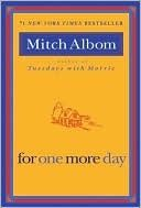 A wonderful book by Mitch Albom! What would you do if you were given the chance to spend one more day with someone who has passed away? This is the story of Charley Benetto. His life is going no where, so after receiving some new that breaks his heart, Charley decides to end his life. He heads to his childhood home, only to find his dead mother there. What happens next? You will need to read the book to find out.
