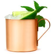 We all know that a Moscow Mule should come served in a copper mug, so why resort to serving your guests the classic vodka based cocktail in a standard glass? The Moscow Mule Copper Cups offer you the chance to present a unique drinks service, whether you'