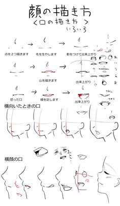 Drawing Faces Side View Character Design Ideas For 2019 - - Body Reference Drawing, Drawing Reference Poses, Design Reference, Drawing Tips, Drawing Sketches, Drawings, Manga Drawing Tutorials, Manga Tutorial, Drawing Expressions