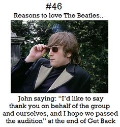 Reasons to love The Beatles #46