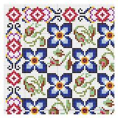 Open House Miniatures - Paula Rose rug - needlework chart