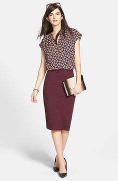 marsala mix business casual