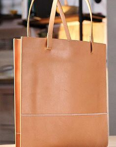 Handmade handbag purse leather shopper tote bag purse shoulder bag for women