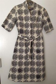 Vintage 1963 Marimekko Mini Dress Tunic Suomi Design Research