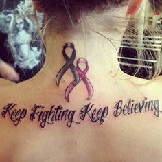 15 Breast Cancer Ribbon Tattoos