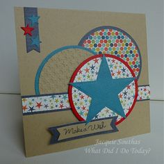MFTWSC118 Star Birthday by Jacquie J - Cards and Paper Crafts at Splitcoaststampers