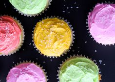 Vodka Cupcakes @Kristen Huenemann  this is what I am bringing tomorrow :-) drunken b-day cake!