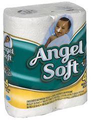 Angel Soft Bathroom Tissue 4 Regular Rolls for $1 on http://hunt4freebies.com/coupons
