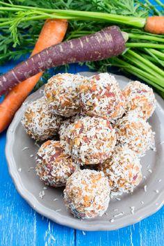 Carrot No Bake Energy Bites