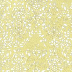 Comblé White on Pale Yellow wallpaper available online. A yellow modern wallpaper by Tres Tintas at best online price. Order today for quick delivery.