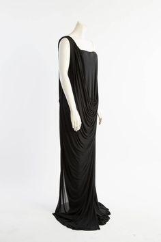 1990's Alexander McQueen Grecian Goddess Gown | From a collection of rare vintage evening dresses at https://www.1stdibs.com/fashion/clothing/evening-dresses/