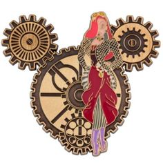 Jessica Rabbit Steampunk Disney Pin - I want this pin!  Can't wait to be able to do more trading :)
