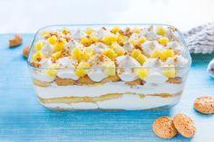 Un dolce al cucchiaio facile e goloso, il tiramisù all'ananas è una variante della ricetta originale del tiramisù. Provalo ora!