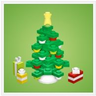 LEGO Christmas Tree by Chris McVeigh