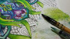 Exploration graphique  Coloriage mandala et motif floral Ce dessin est issu du cahier de coloriage NatWorkshop Mandalas et Fleurs Volume 1 Page 1 disponible en téléchargement instantané PDF. Voir le lien dans la bio.  #coloring #antistress #mandala #flowers #coloriage #digitalart #coloringbook #adultcoloringbook #art #arttherapie #arttherapy #loisircreatif #couleur #detente #loisir #aquarelle #watercolor #winsorandnewton  #NatWorkshop #etsy