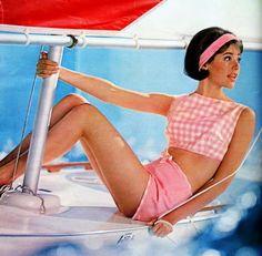 Pink Gingham, my fav! 1964