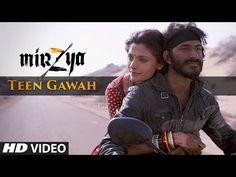 TEEN GAWAH Video Song | MIRZYA | Shankar Ehsaan Loy | Rakeysh Omprakash Mehra…