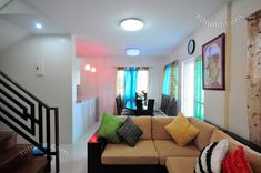 Myhaybol - photo gallery of real homes in the Philippines showcasing Filipino architecture and interior design. Small House Interior Design, Condo Interior, Custom Home Designs, Custom Homes, Philippines House Design, Two Storey House Plans, Modern House Facades, Affordable Housing, Dining Room Design