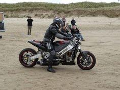 The World's Fastest Turbin Powered Motorbike - 233,7 mph (542 HP)