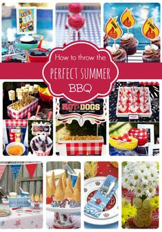 Several great ideas for throwing a BBQ party