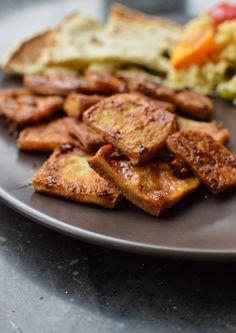 Caramelized Tofu - Vegan