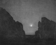 """Laura Gilpin, """"The Moon of the Red Gods"""" (1922)"""