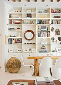 I want a built in book case like this one