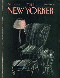 The New Yorker - Monday, December 26, 1988 - Issue # 3332 - Vol. 64 - N° 45 - Cover by : Merle Nacht