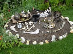 Witch's garden at Hampton Court Flower Show